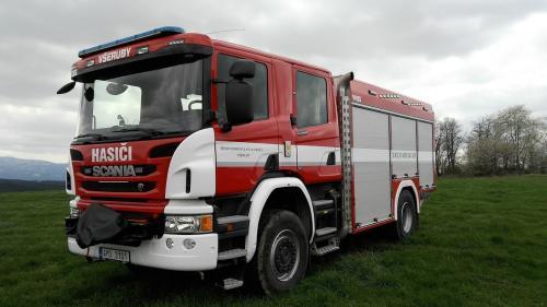 Jednotka sboru dobrovolných hasičů městyse Všeruby disponuje novým defibrilátorem