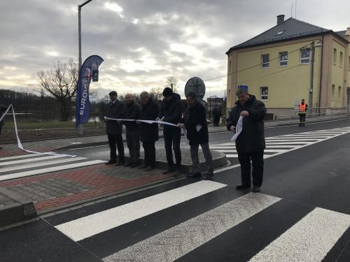 Slavnostní otevření průtahu II/184 ve Všerubech