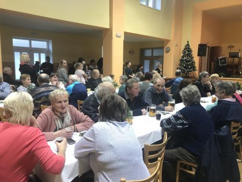 Vánoční posezení se seniory
