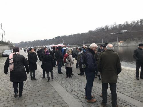 Návštěva Prahy v rámci přeshraniční spolupráce s městysem Eschlkam - 12. 12. 2019
