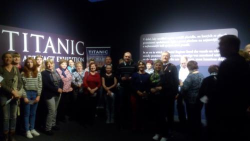 Výlet do Prahy na muzikál Evita a výstavu Titanic