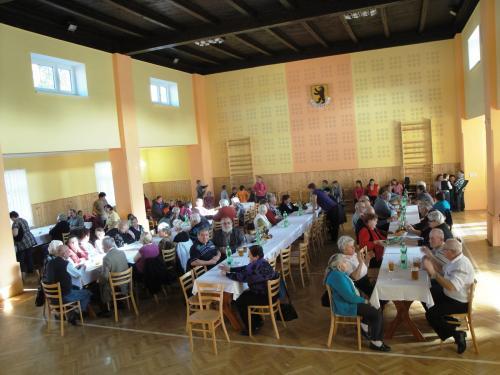 Setkání důchodců 24.10.2015